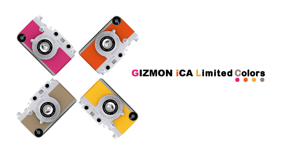GIZMON iCA Limited Colors